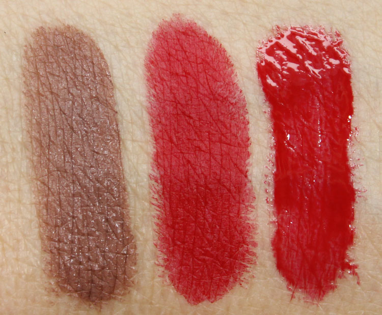 MAC RiRi Hearts MAC Swatches