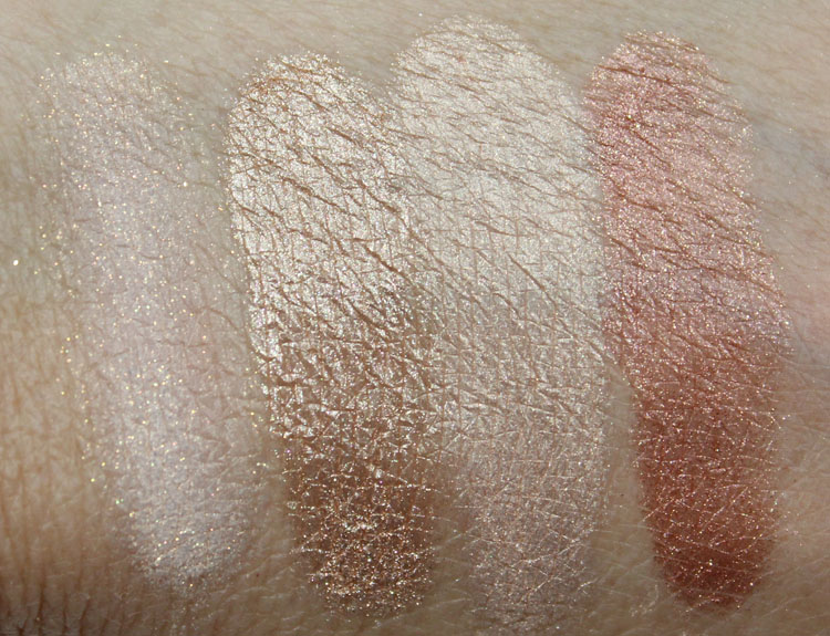 Makeup Geek Pigment Swatches