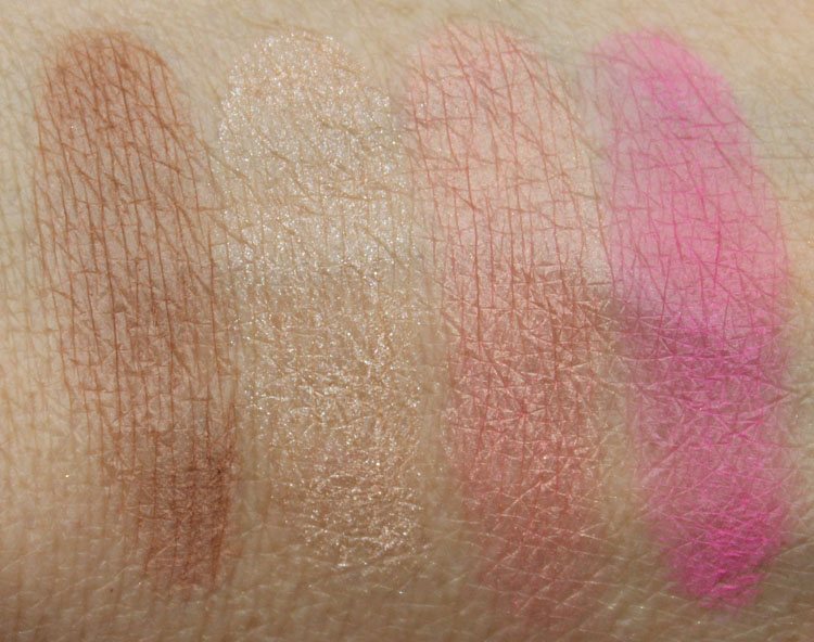 NARS Adult Content Swatches