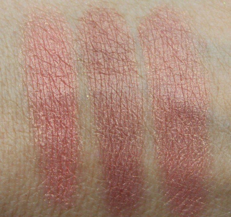 NARS Cheek Palette Realm of the Senses Swatches