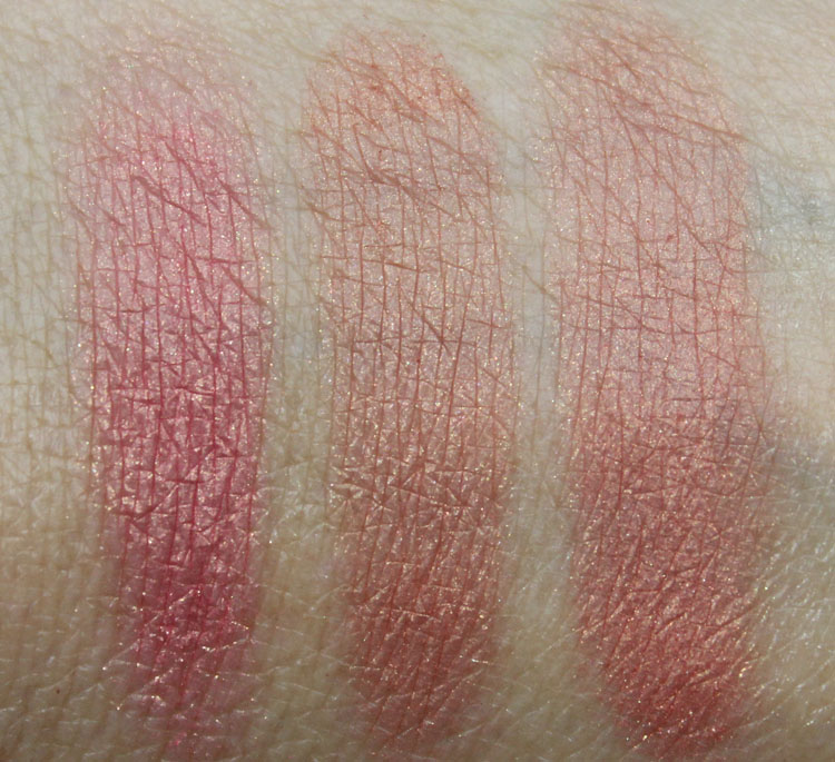 NARS Cheek Palette Soulshine Swatches