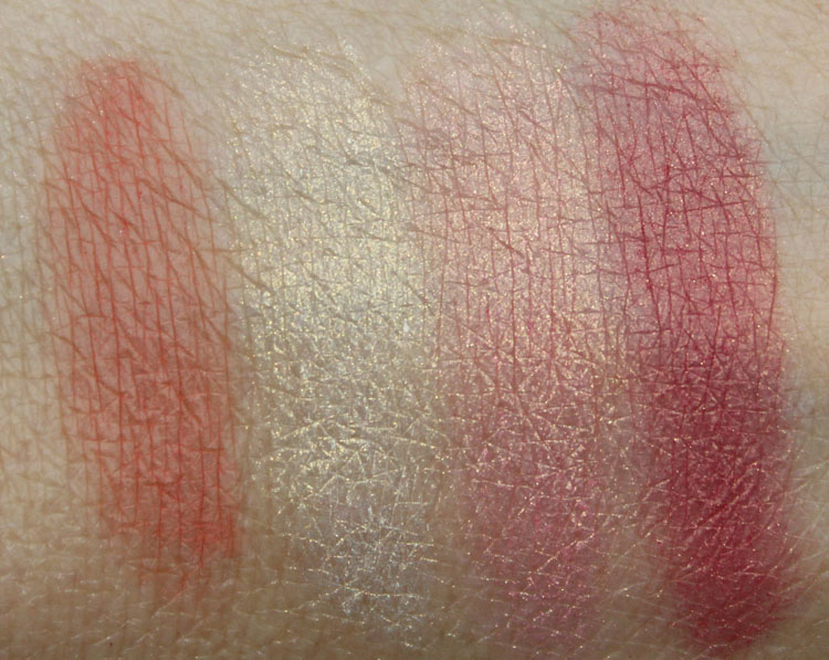 NARS Killing Me Softly Swatches