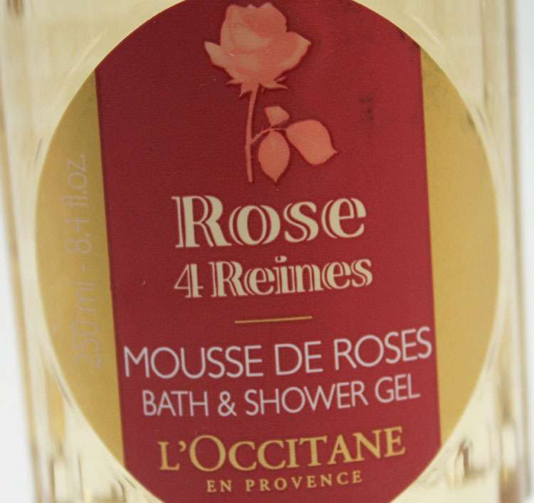 L'Occitane Rose 4 Reines Bath and Shower Gel-2