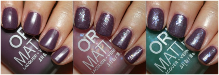 Orly Matte FX Collage