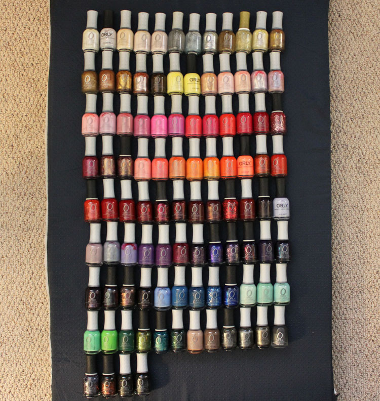 Orly Nail Lacquer Collection