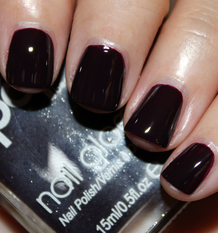 Pop Nail Glam Purple Plum