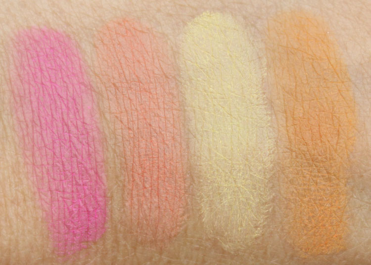 Sigma Creme De Couture Swatches