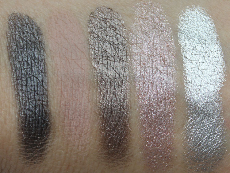 Urban Decay Anarchy Face Case Swatches