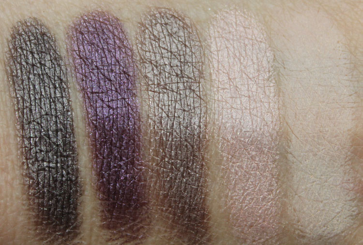Urban Decay Shattered Face Case Swatches