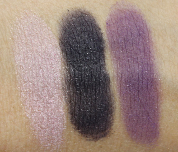 Wet n Wild Color Icon Trio Zero Dark Flirty Swatches