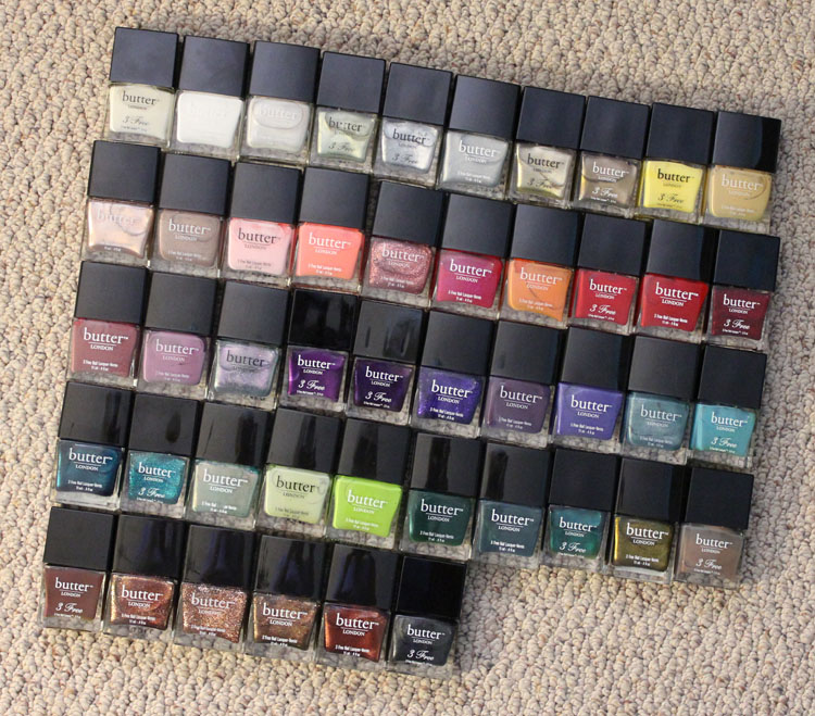 butter LONDON Nail Lacquer Collection-2