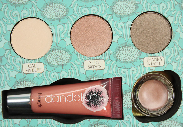 Benefit luv it up! cutest nudist makeup kit-2