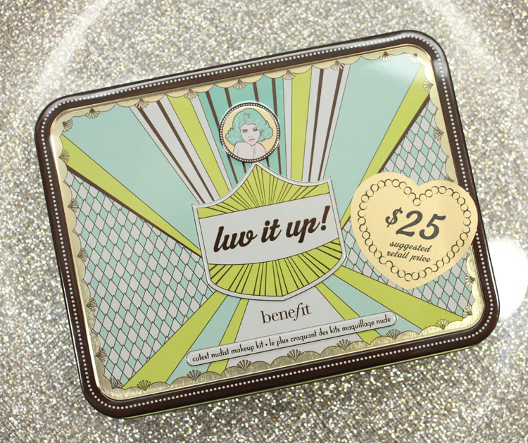 Benefit luv it up! cutest nudist makeup kit