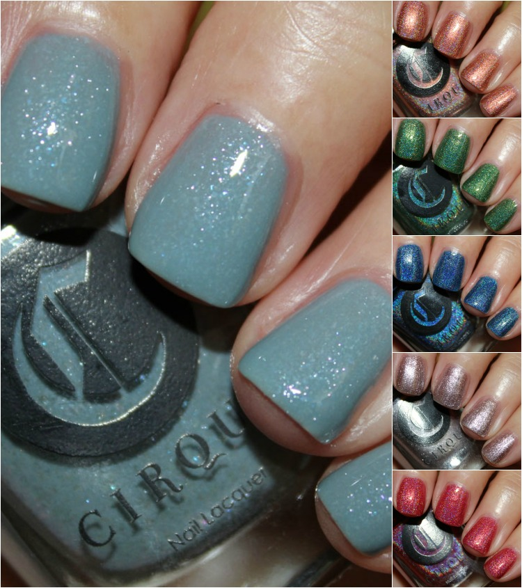 Cirque Nail Lacquer Collage