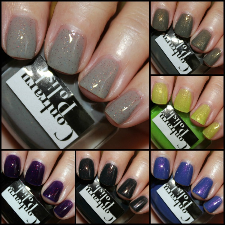 Contrary Polish No Place Like Home Collage