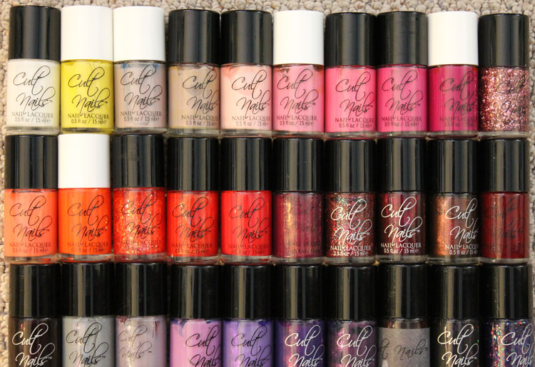 Cult Nails Nail Lacquer Collection-3