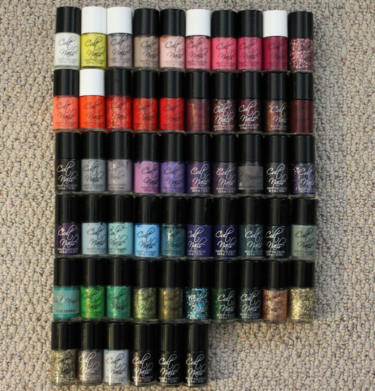 Cult Nails Nail Lacquer Collection