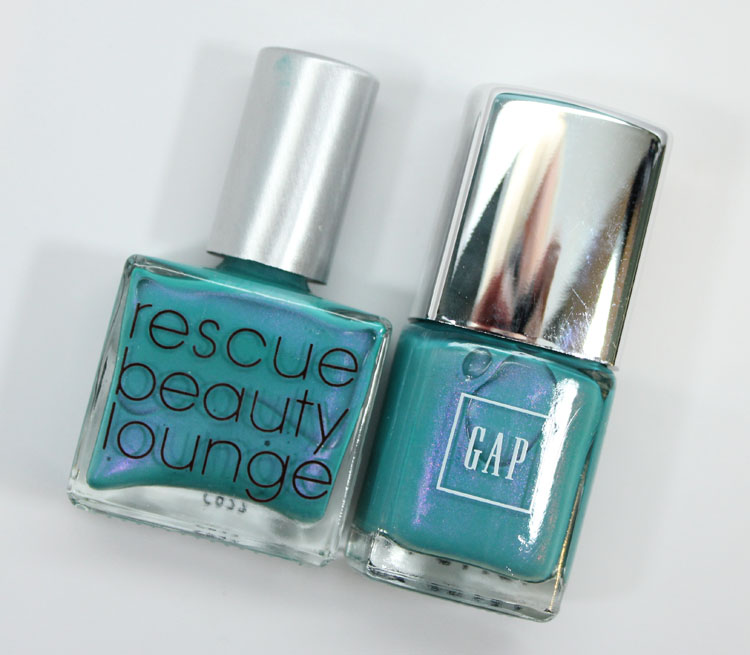 Gap Bright Pool is an Inexpensive Dupe for Rescue Beauty Lounge Aqua ...