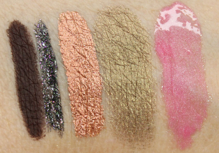 Jane Cosmetics Swatches