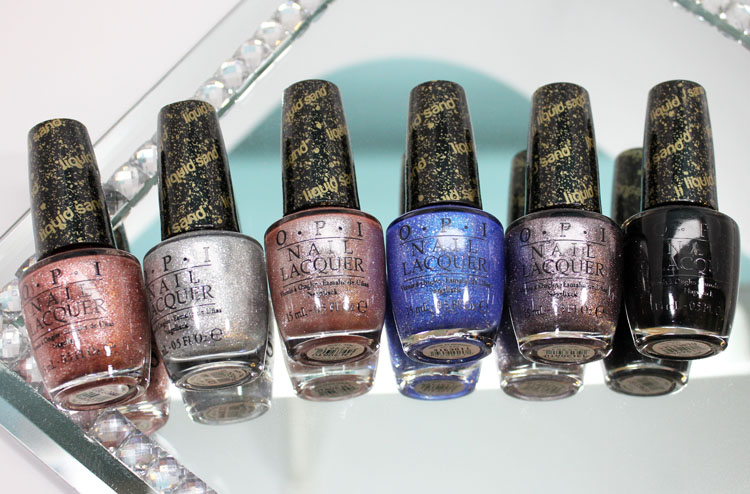 OPI Mariah Carey Holiday 2013-2