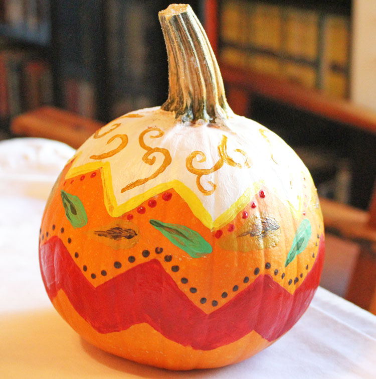 Painting Pumpkins-6