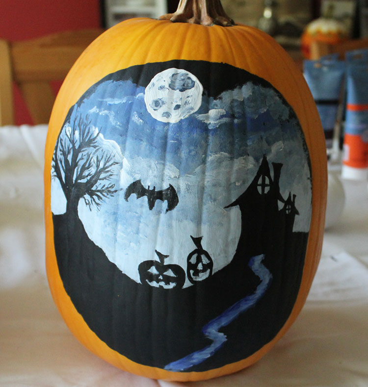 Painting Pumpkins-9