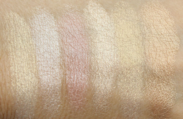Pixi Perfection Palette Swatches