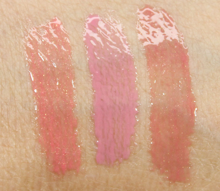Tarte Gorgeous Getaways Lip Gloss Swatches