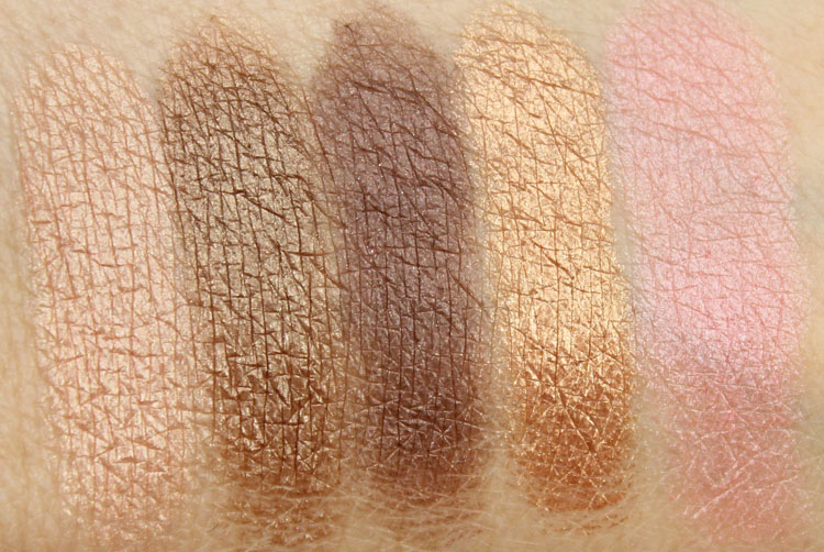 Tarte Gorgeous Getaways Swatches-2