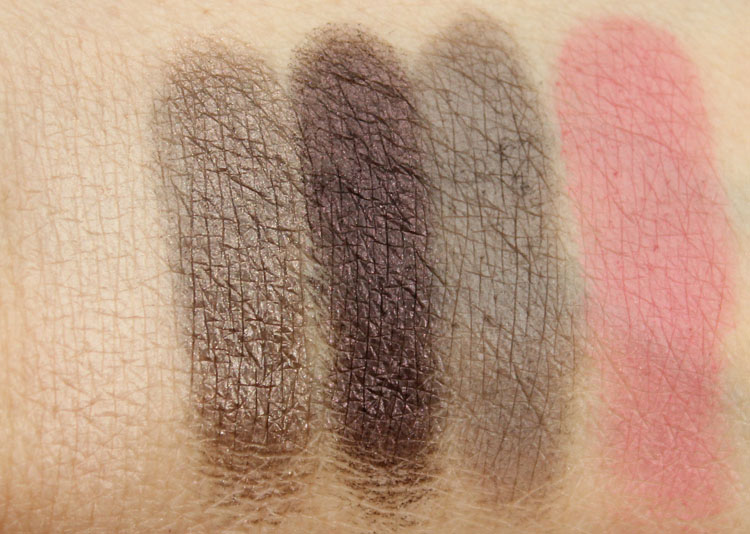 Tarte Gorgeous Getaways Swatches-3