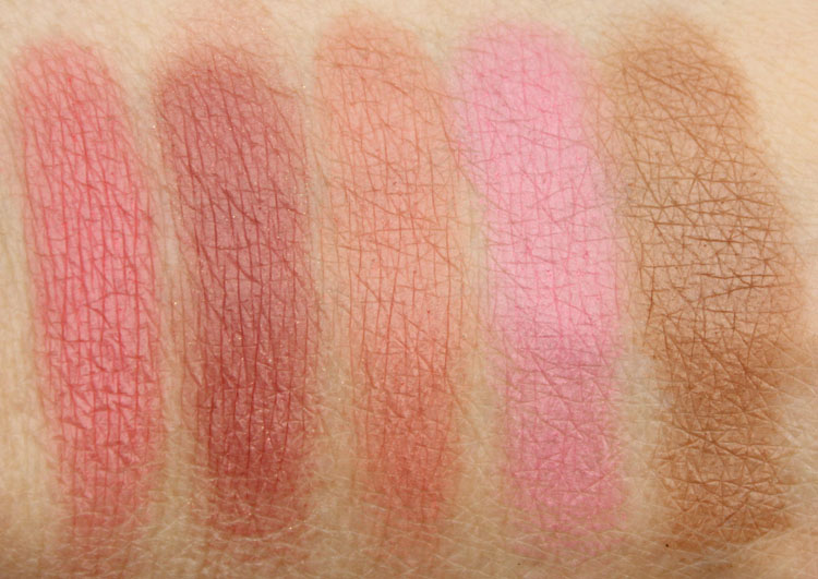 Tarte Off The Cuff Swatches