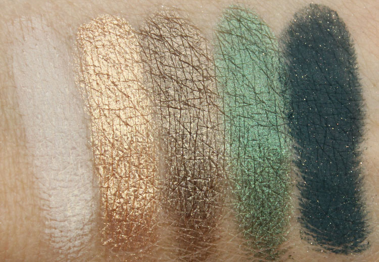 Too Faced A Few of my Favorite Things Swatches-2