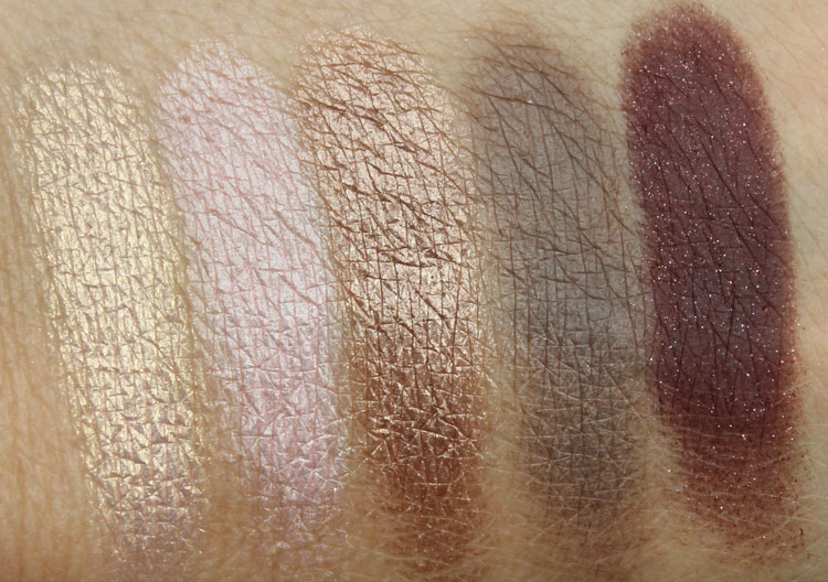 Too Faced A Few of my Favorite Things Swatches-3