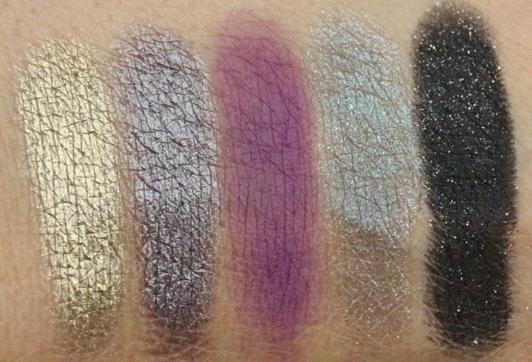 Too Faced A Few of my Favorite Things Swatches-4