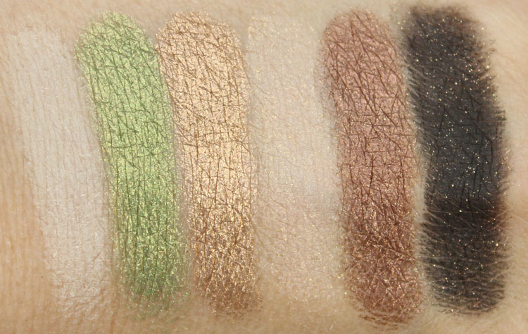 Too Faced Be Merry Swatches