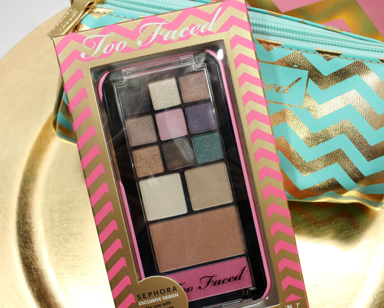 Too Faced Jingle All The Way Pop-Out Makeup Palette and Phone Case