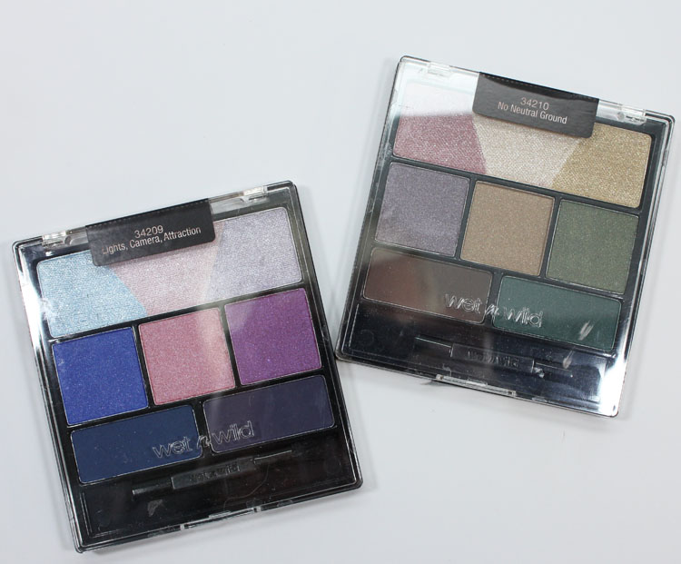 Wet n Wild Holiday Spotlight Eyeshadow Collection