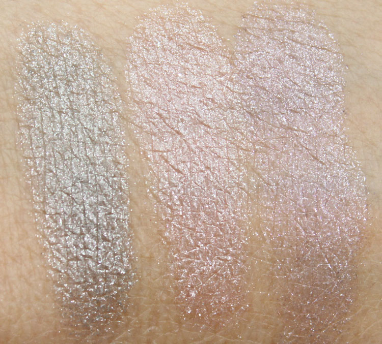 Wet n Wild Holiday Spotlight Eyeshadow in Lights, Camera, Attraction Swatches-2