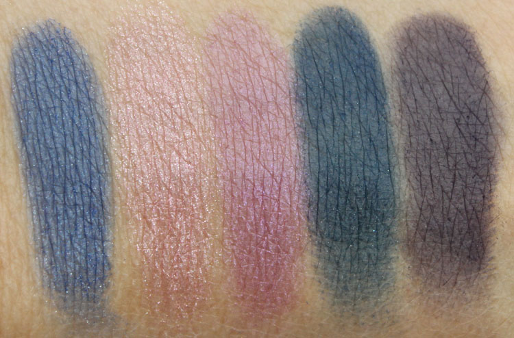 Wet n Wild Holiday Spotlight Eyeshadow in Lights, Camera, Attraction Swatches