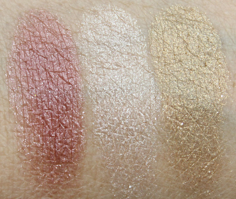 Wet n Wild Holiday Spotlight Eyeshadow in No Neutral Ground Swatches-2