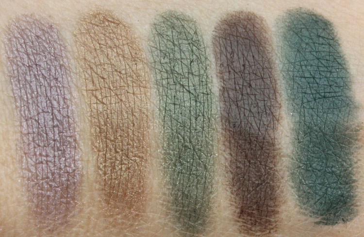 Wet n Wild Holiday Spotlight Eyeshadow in No Neutral Ground Swatches