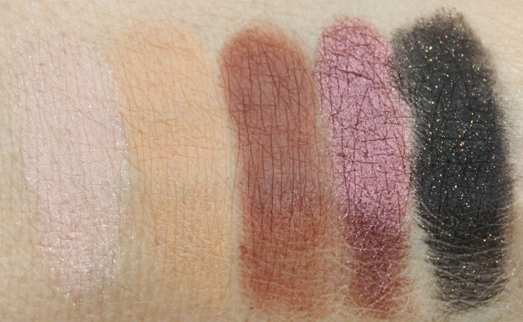 Anastasia Lavish Kit Swatches-2