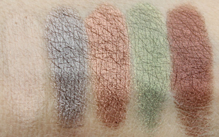 Anastasia Lavish Kit Swatches