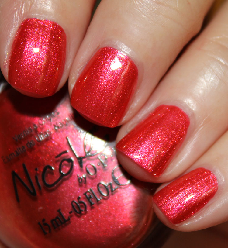 Nicole by OPI Who Red My Journal???