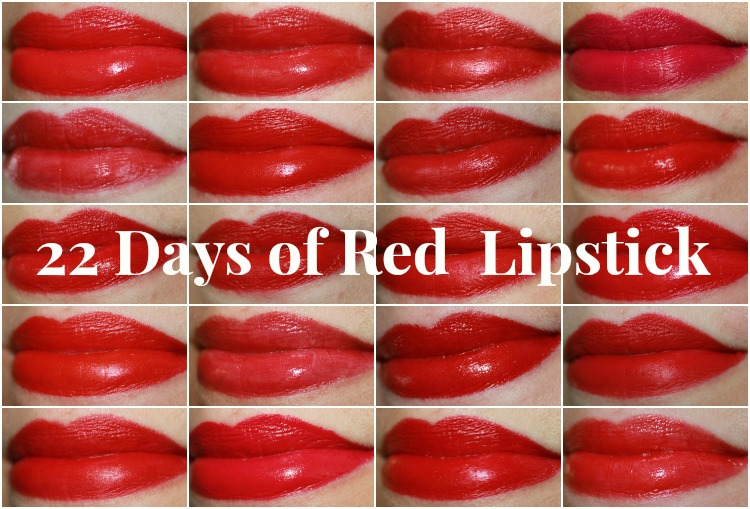 Red Lipstick Collage