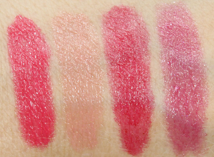 Revlon Colorburst Lacquer Balm Swatches