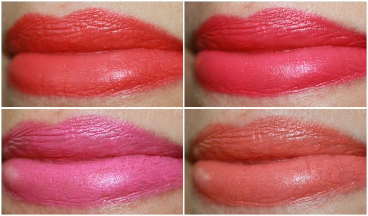 Revlon Colorburst Matte Balm Collage