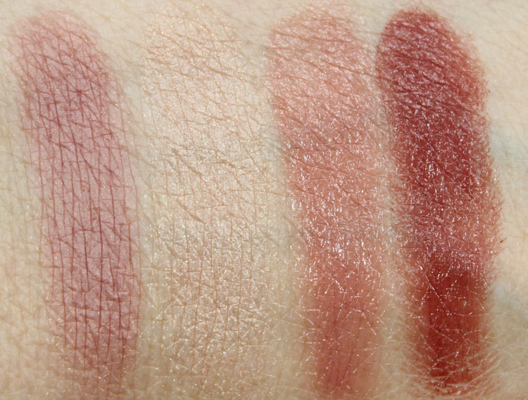 bareMinerals Perfect Ten swatches-2