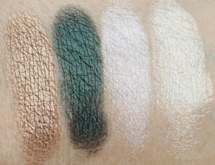 bareMinerals The Mix Master Convertible Eyeshadow Palette Swatches-3