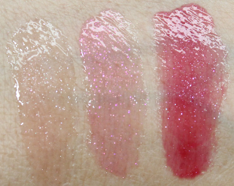 e.l.f.3 Piece Glossy Lip Set Swatches